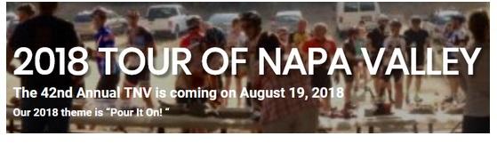 Tour of Napa Valley 2018