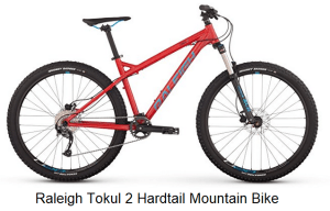 Raleigh Tokul 2 Hardtail Mountain Bike