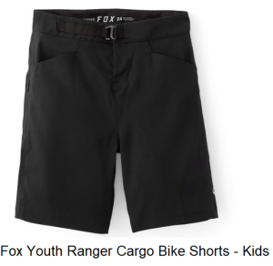 Fox Youth Ranger Cargo Bike Shorts - Kid's