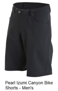 Pearl Izumi Canyon Bike Shorts