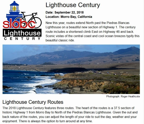 Lighthouse Century 2018