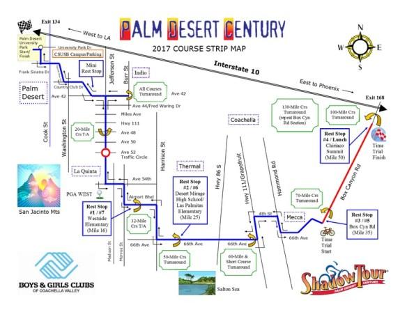 Palm Desert Map