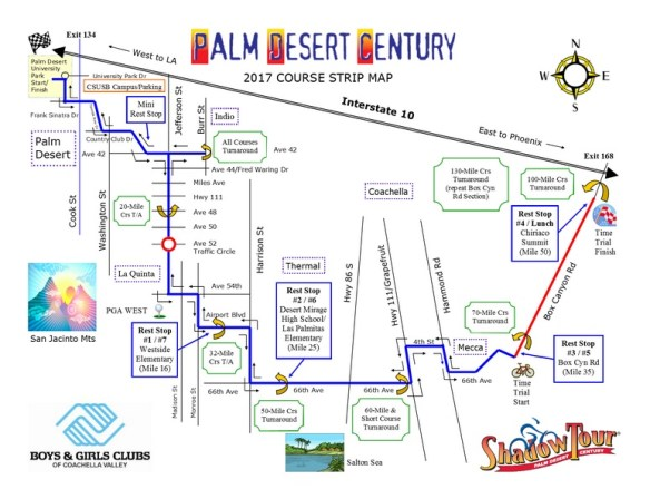 Palm Desert Map