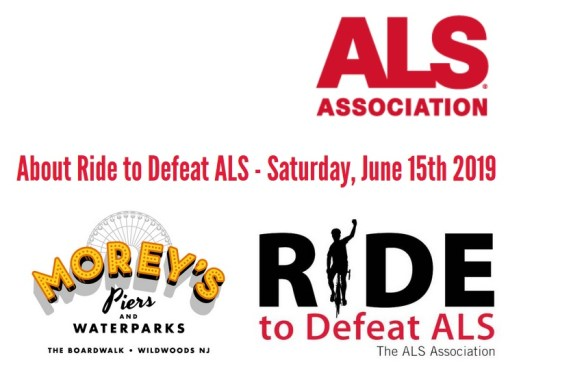 Ride to Defeat ALS 2019