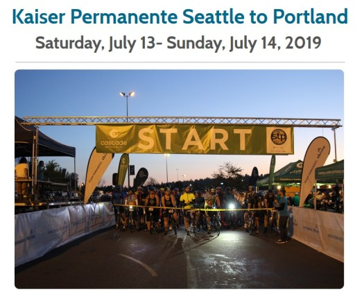 Seattle to Portland Ride 2019
