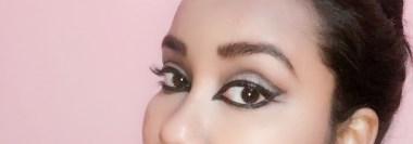 "You can go bold & line the crease of the eyes with a black eyeliner to get these ""Mysterious Arabic Eyes!!"""