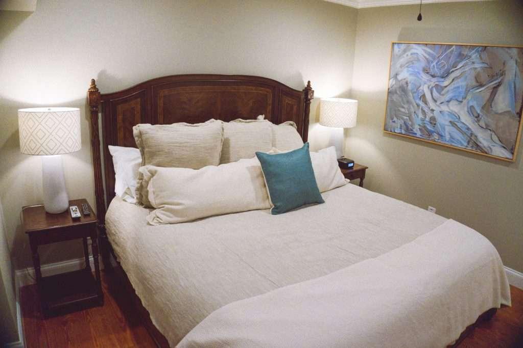 gentry hotel, charleston sc, gentry hotel bed