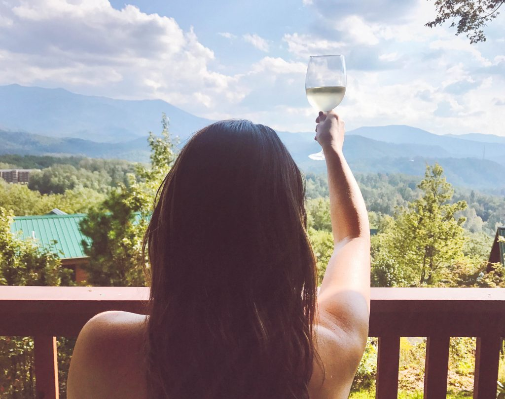 Gatlinburg, Tennessee, cabin with a view