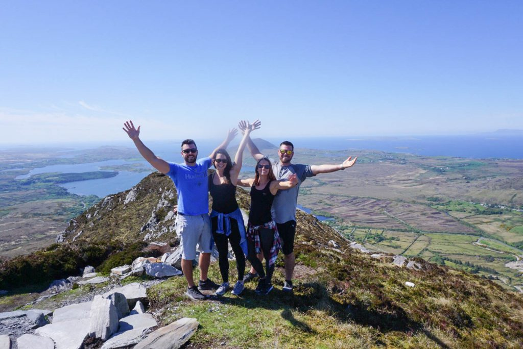 Ireland, Hike, Diamond Hill, Travel Buddies