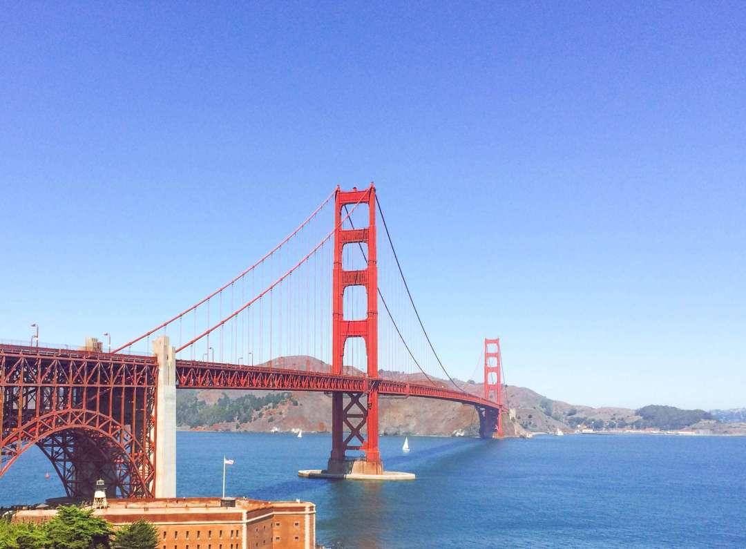 San Francisco, Golden Gate Bridge, Ride the Bridge, California, Tourist