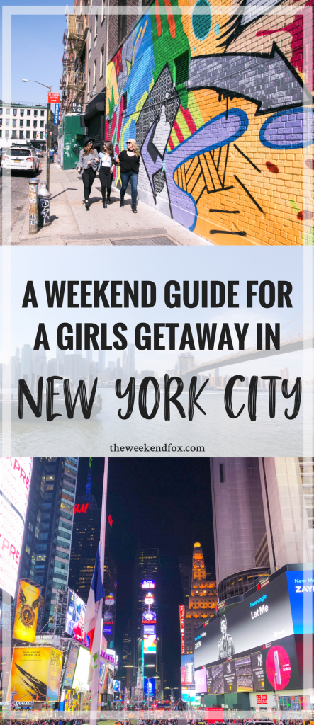 A Weekend Guide for a Girls Getaway in New York City, girls getaway, girls weekend, girls trip, NYC things to do, NYC restaurants, New York City weekend, NYC brunch restaurants, Flytographer, #NYCtips #travelblog
