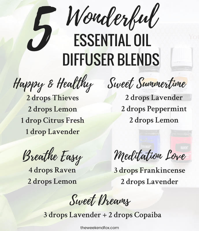 Essential Oil Diffuser Recipe For Sleep Young Living