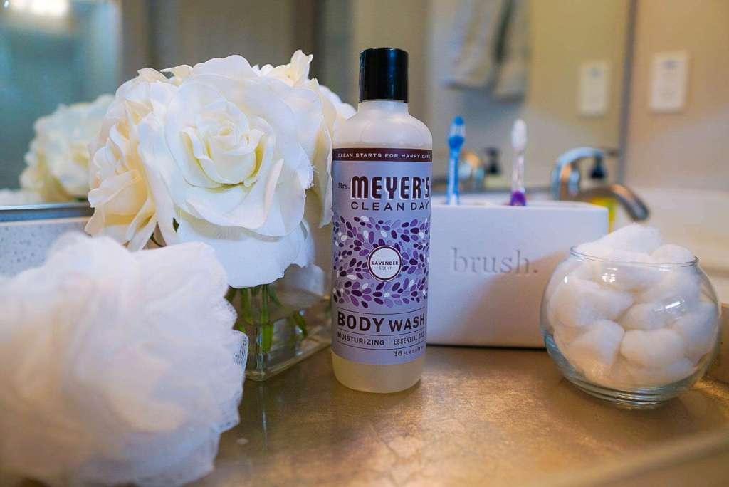 Mrs. Meyer's Clean Day Body Wash, Mrs. Meyer's Lavender Body Wash, Mrs. Meyer's Products, Shower Upgrade, Shower Products, Bath and Body Products, Refresh Your Mind and Body, New Season, Refresh For Spring, Spring Upgrade, Spring Cleaning, Mrs. Meyer's Household, #ad #GotItFree #MrsMeyersBodyWash