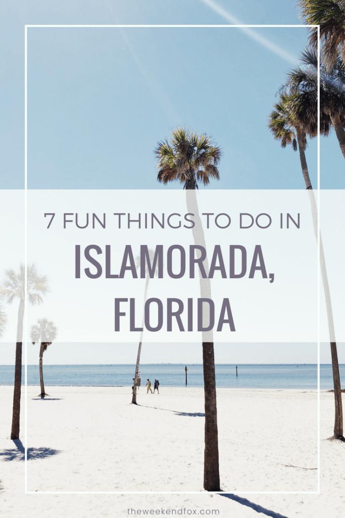 7 Fun Things to do in Islamorada, Florida // things to do in the keys, Islamorada attractions, Islamorada hotels, Florida Keys, Florida travel, #travelblog #floridablogger #floridalifestyle #loveFL