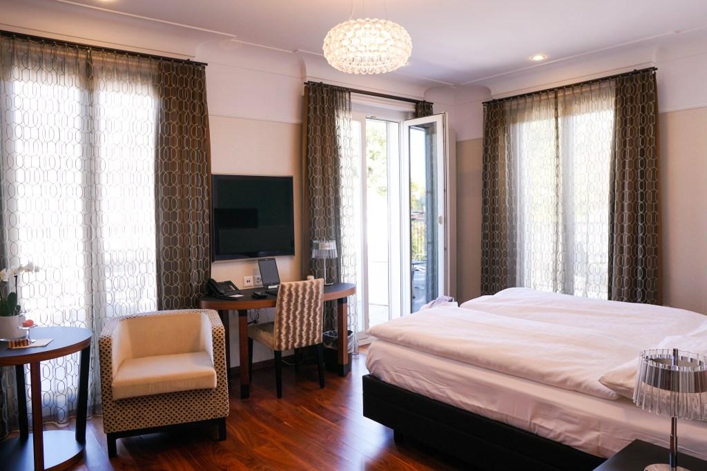 Art Deco Hotel Montana Junior Corner Suite