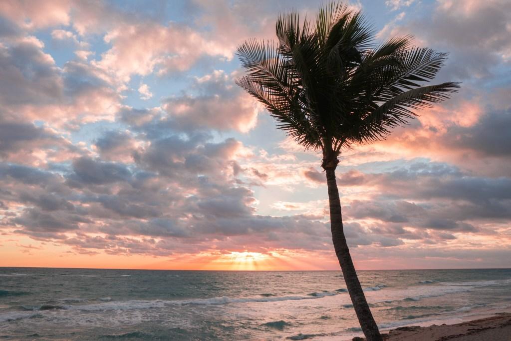Sunrise at Jupiter Beach Resort and Spa