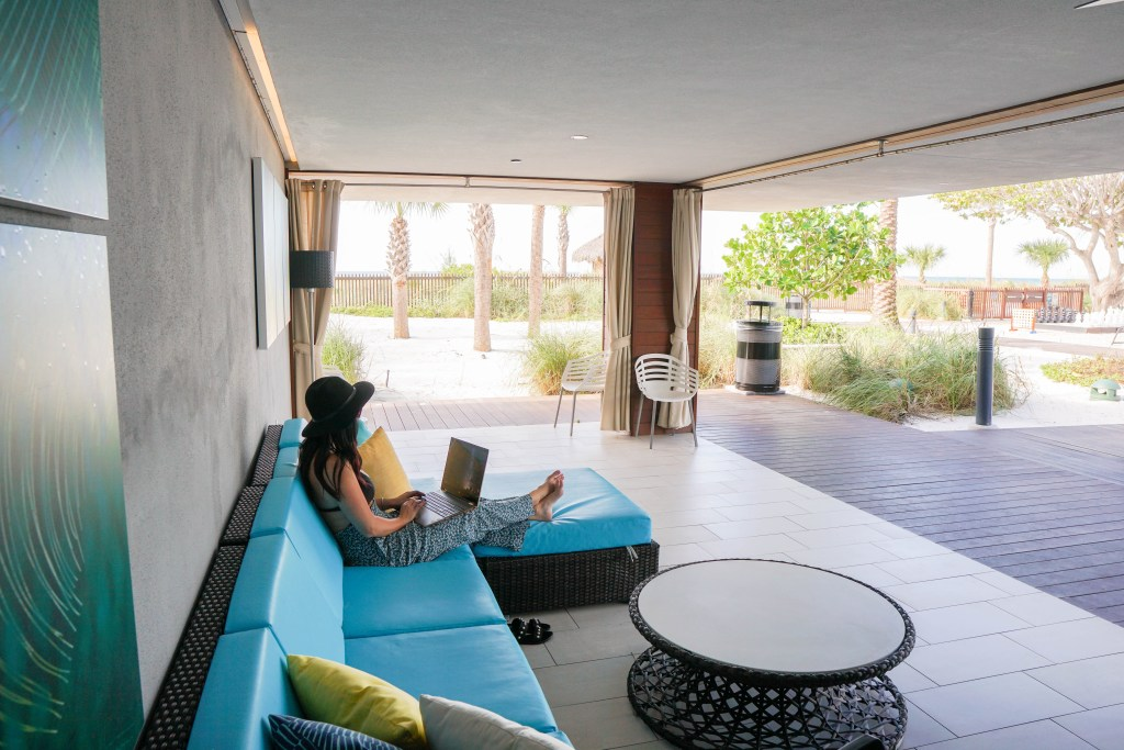 Zota Beach Resort Poolside Cabana