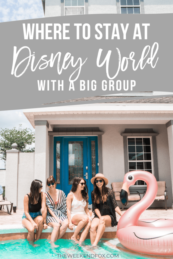 Where to Stay at Disney World with a Big Group // Magical Vacation Homes, Florida Vacation Homes, Orlando Vacation Homes, Reunion Resort, Best Places to Stay at Disney #disneyworld #disneyvacation #vacationhome #visitorlando #visitflorida #ad