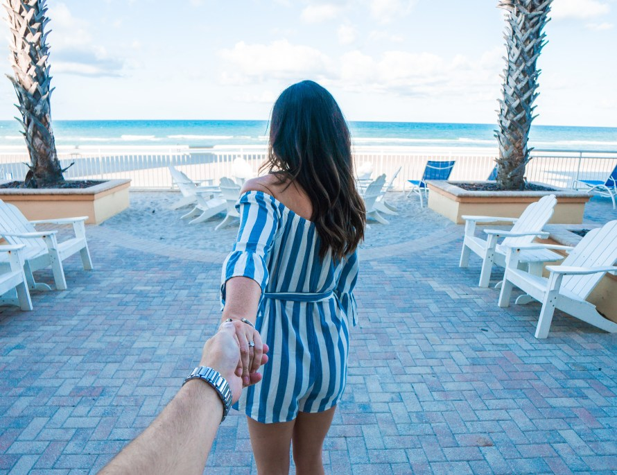 Best Places to Stay in Daytona Beach // The Shores Resort and Spa, follow me to the beach