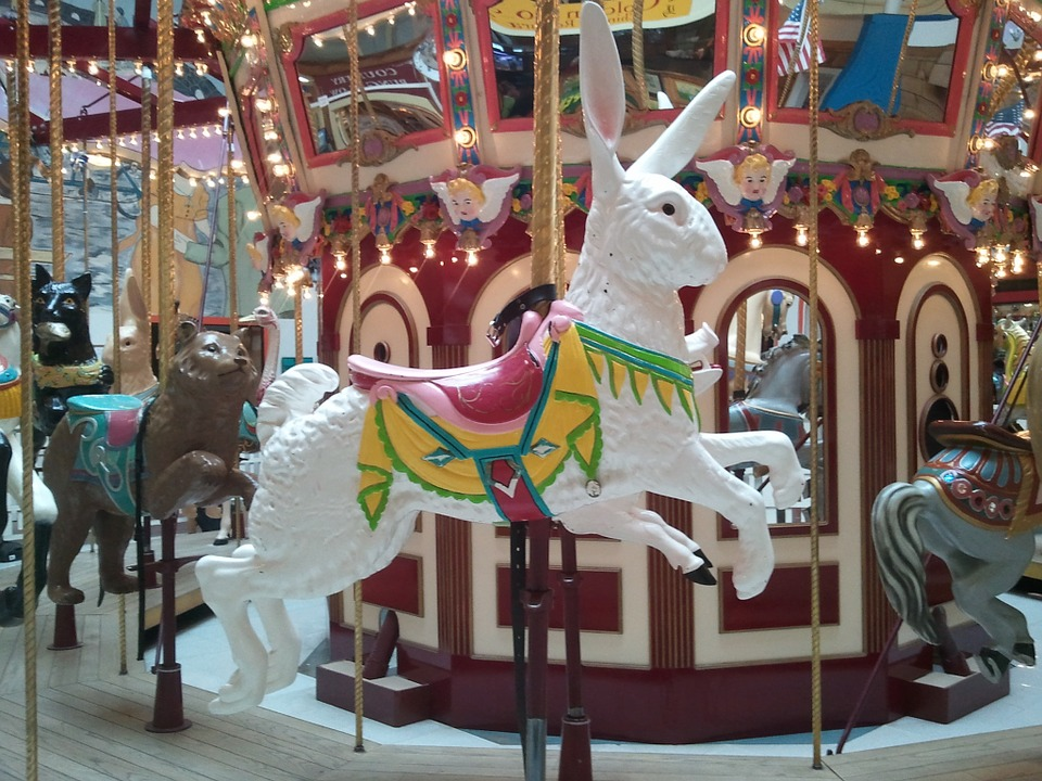 Carousels, also called Merry Go Rounds and Roundabouts, are delightful for both children and adults. Here are some of the best carousels around the USA.
