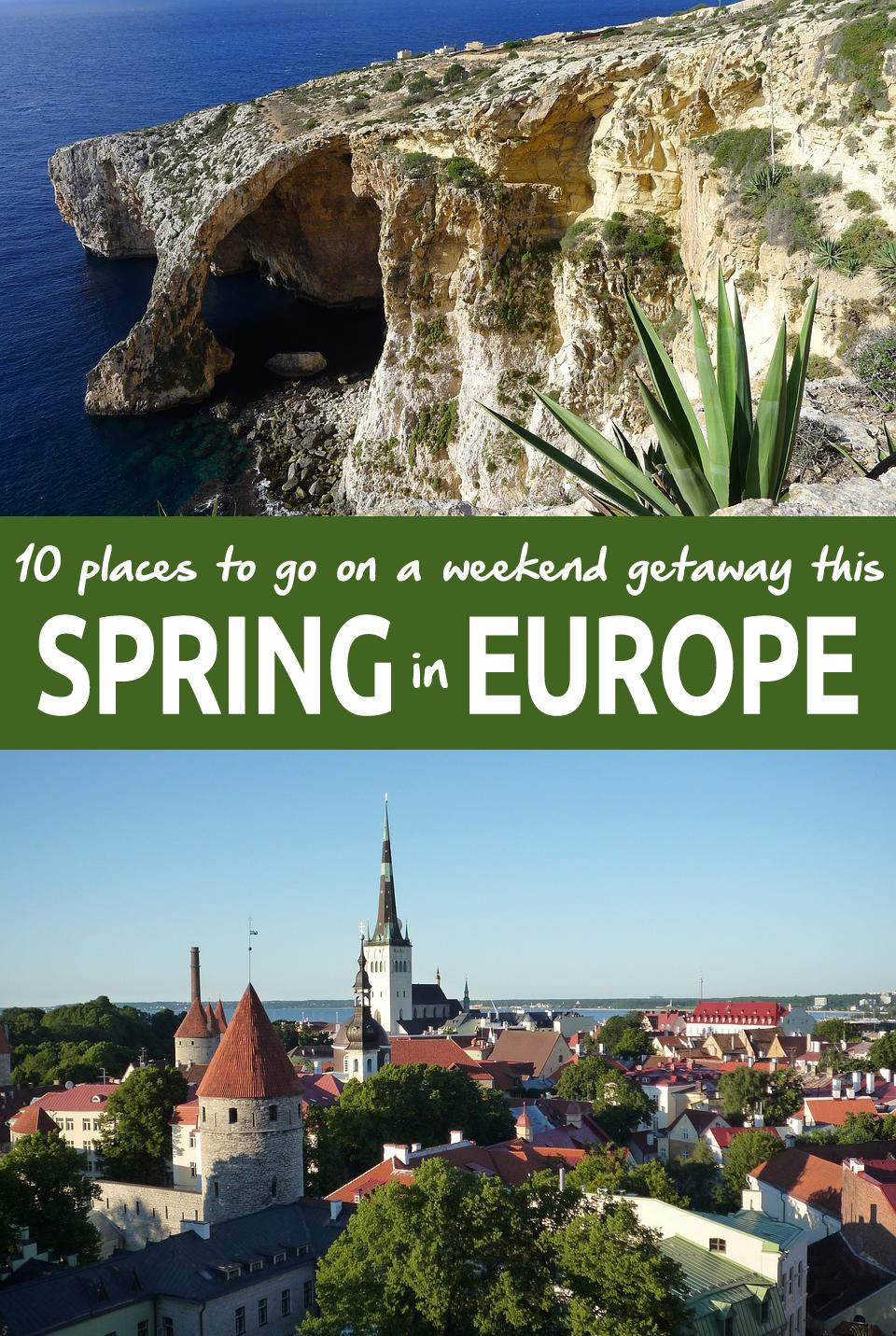 spring in europe