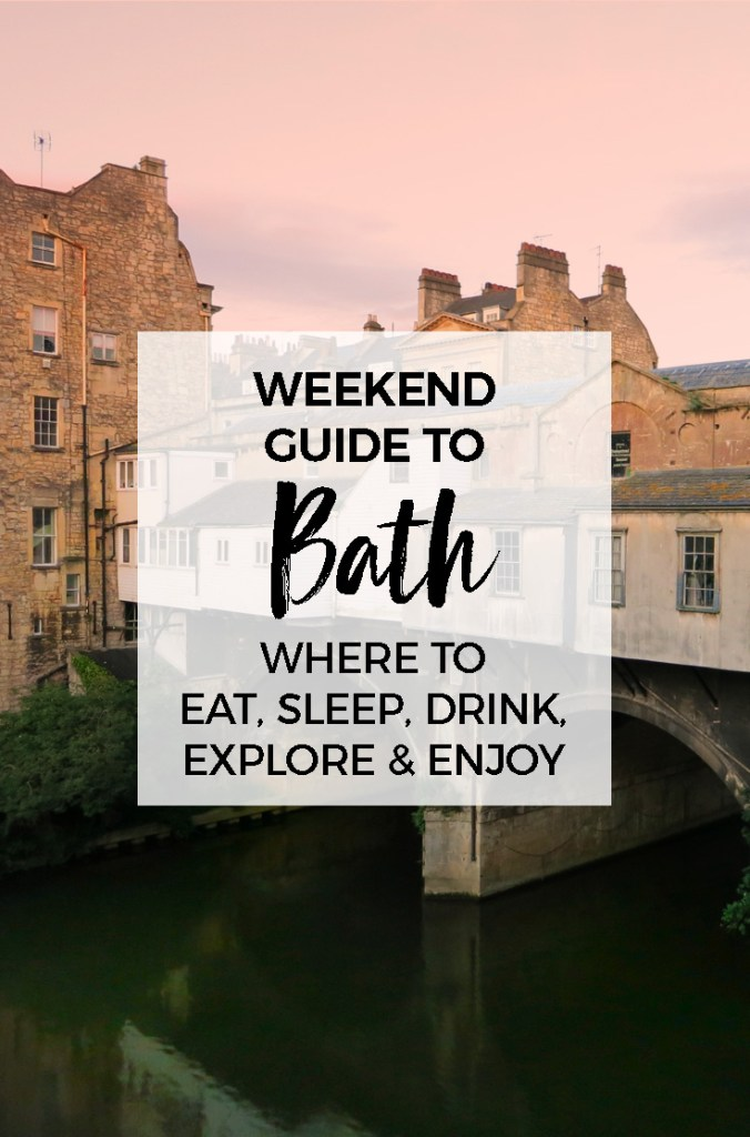 Bath is a lovely Georgian city in England with history back to ancient times. Let's pop in for a weekend and explore this beautiful town. What are some of our favorite things to do and see?