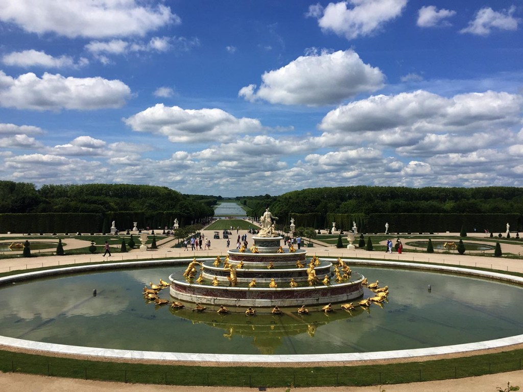 A stroll on the grounds at the Palace of Versailles is always a good idea but my favorite way to see the Versailles gardens is a bike tour with a picnic. While the glittery Hall of Mirrors and other ornate rooms inside the Palace are definitely worth a look, the gardens are the best part. Grab your baguette and bottle of wine and hop on a bike!