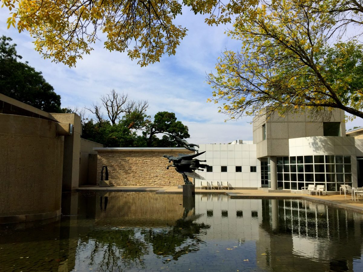 Des Moines Art Center - theweekendguide.com - You may be surprised by the Des Moines Art Center. Their collection is fabulous, the buildings are designed by renowned architects and most shocking of all... entry is FREE!