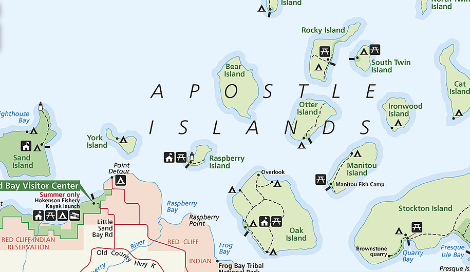 Apostle Islands National Lakeshore :: Apostle Islands Things To Do :: Bayfield, Wisconsin :: Lake Superior