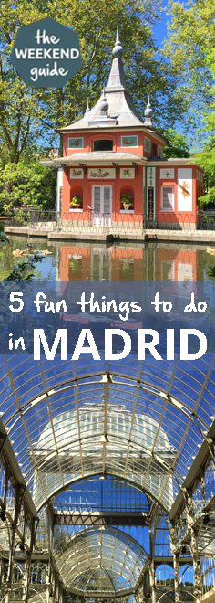 Madrid is one of my favorite cities. Located right in the center of Spain it is a great place to start a Spanish adventure! But first, let's explore the city. - theweekendguide.com