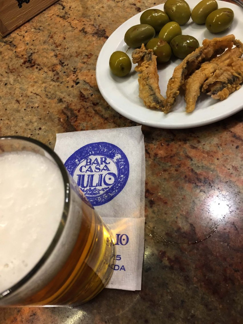 Granada is famous for FREE TAPAS! Order a drink and you'll get a snack. Here are 8 favorite Granada tapas bars, both traditional and unusual.
