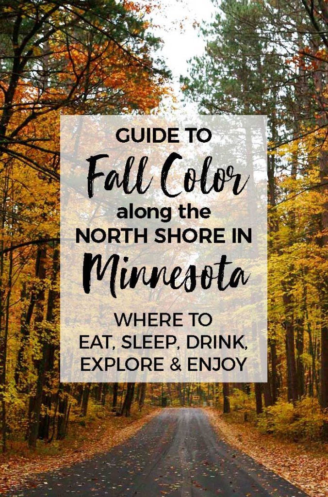 Minnesota fall color :: Take a trip up to Minnesota's North Shore to see the colorful show. And why not stop for a craft beer or tasty pizza while you are at it? We'll tell you our favorite cafes, coolest places to sleep and best waterfalls too.