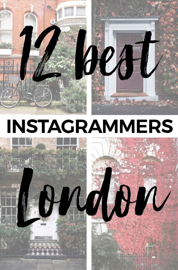 Best London Instagrammers :: Get inspired by the Best London Instagram Accounts #london #instagram