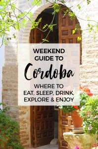 A beautiful city in Andalucía, Córdoba is a wonderful place to visit, whether for a weekend or much longer. Here are our favorite things to see and do, festivals and places to eat.