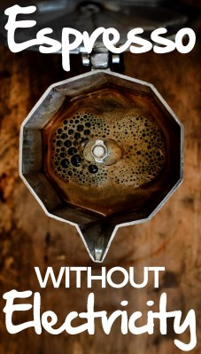 Espresso Without Electricity