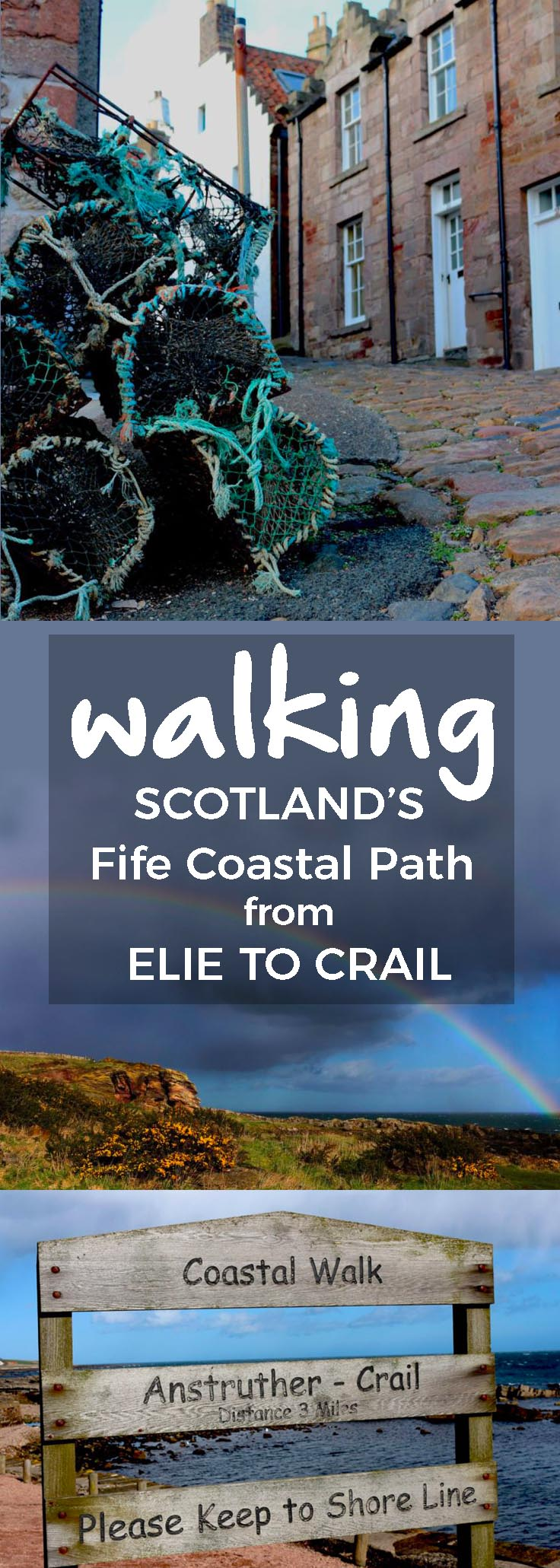 The Fife Coastal Path starts north of Edinburgh at the Firth of Forth and ends at the Firth of Tay. You can walk the entire 117 mile distance or just stroll a small portion. - theweekendguide.com