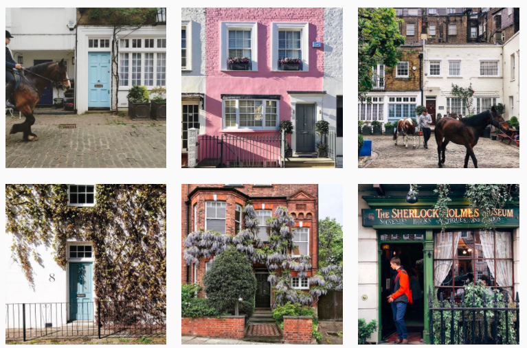 Best London Instagrammers: Get inspired by the Best London Instagram Accounts :: housesofldn