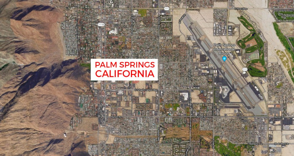 palm springs map : Cool, Hip, Fun Hotels in Palm Springs : best places to stay in Palm Springs