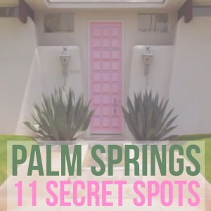 Explore Palm Springs off the beaten path. Discover these 11 secret spots in Palm Springs, ranging from exploring outdoor activities to enjoying quirky art and modern local architecture. These are the weird things to do in Palm Springs when you get bored of lounging by the hotel pool.