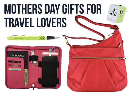 15 Awesome Mothers Day Gifts for Moms Who Love to Travel