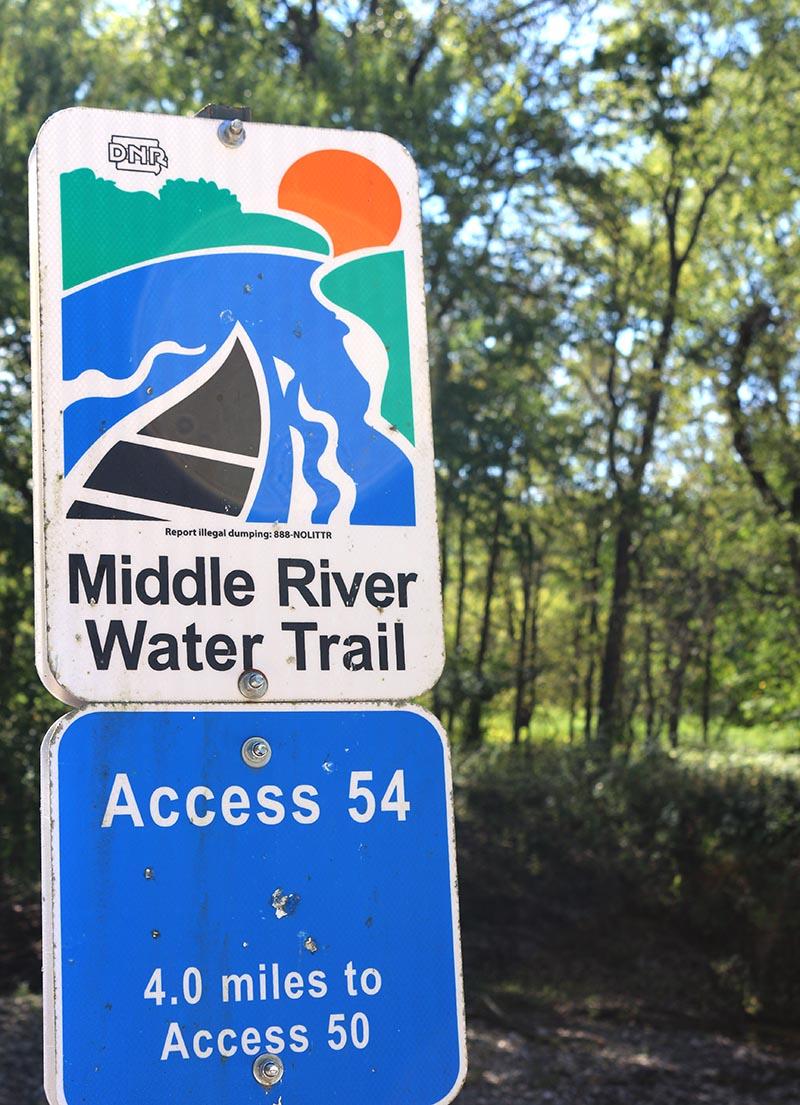 Middle River Trail Iowa