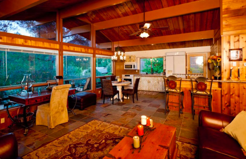 Best Places to Stay in Sedona - Gorgeous Cabin