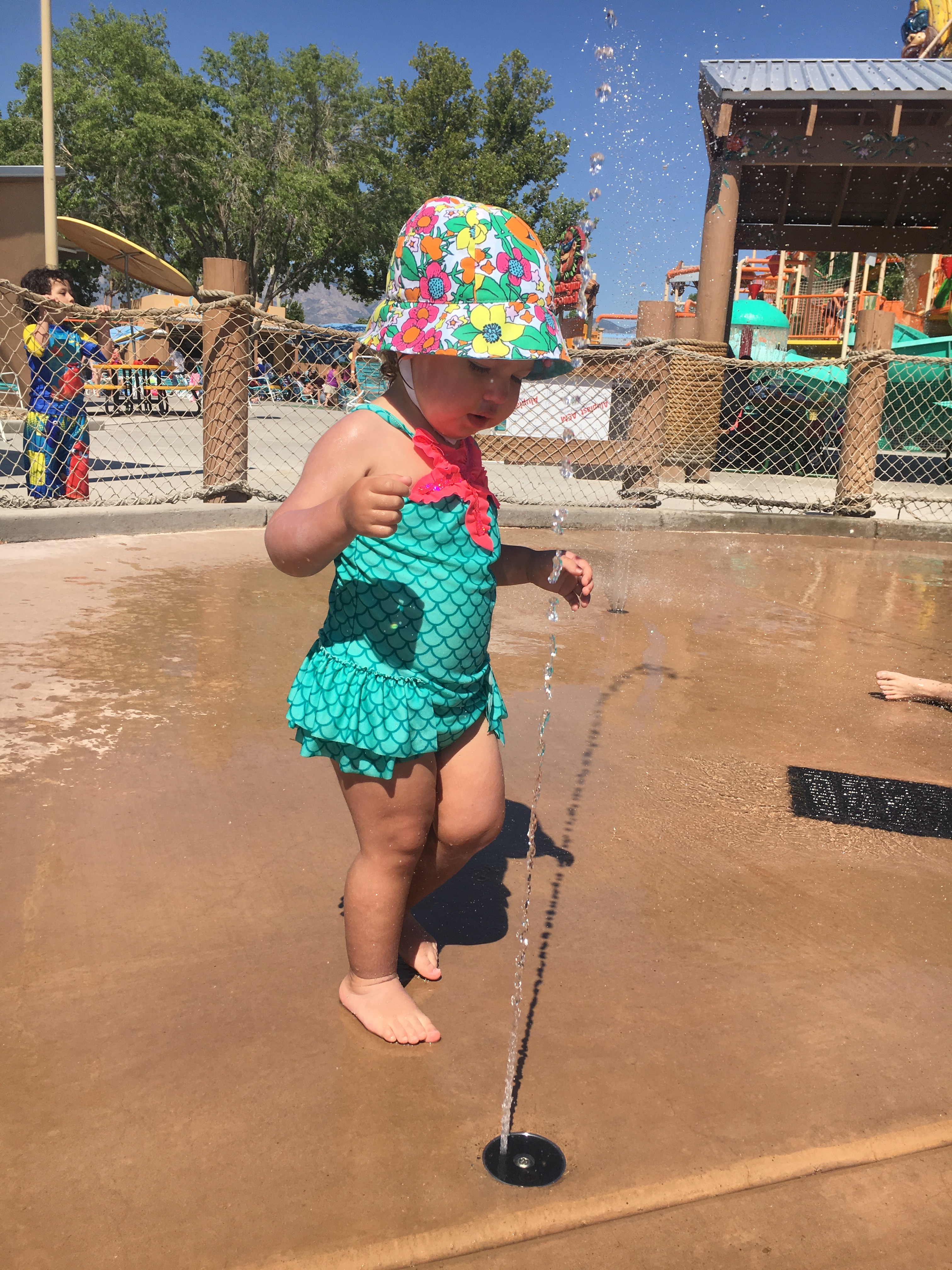One of our favorite kids' activities in New Mexico was a trip to Cliff's Amusement Park to check out the Lil' Squirts area.