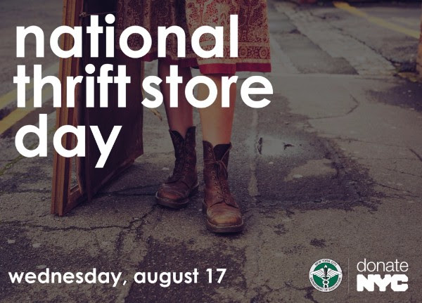 Celebrate National Thrift Store Day in NYC