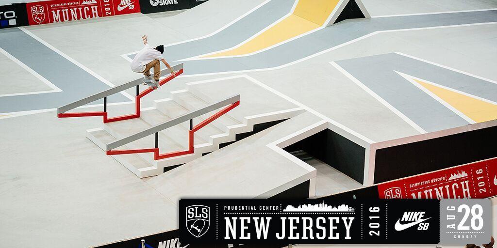 2016 Street League Skateboarding (SLS) Nike SB World Tour in New Jersey