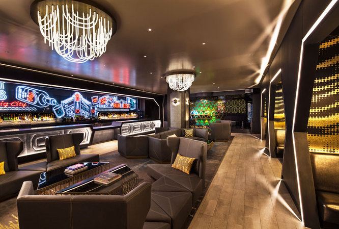 living Room at the W