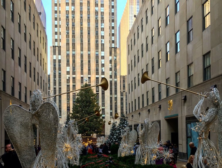 The Rink at Rockefeller Center Opens for its 80th Anniversary Season