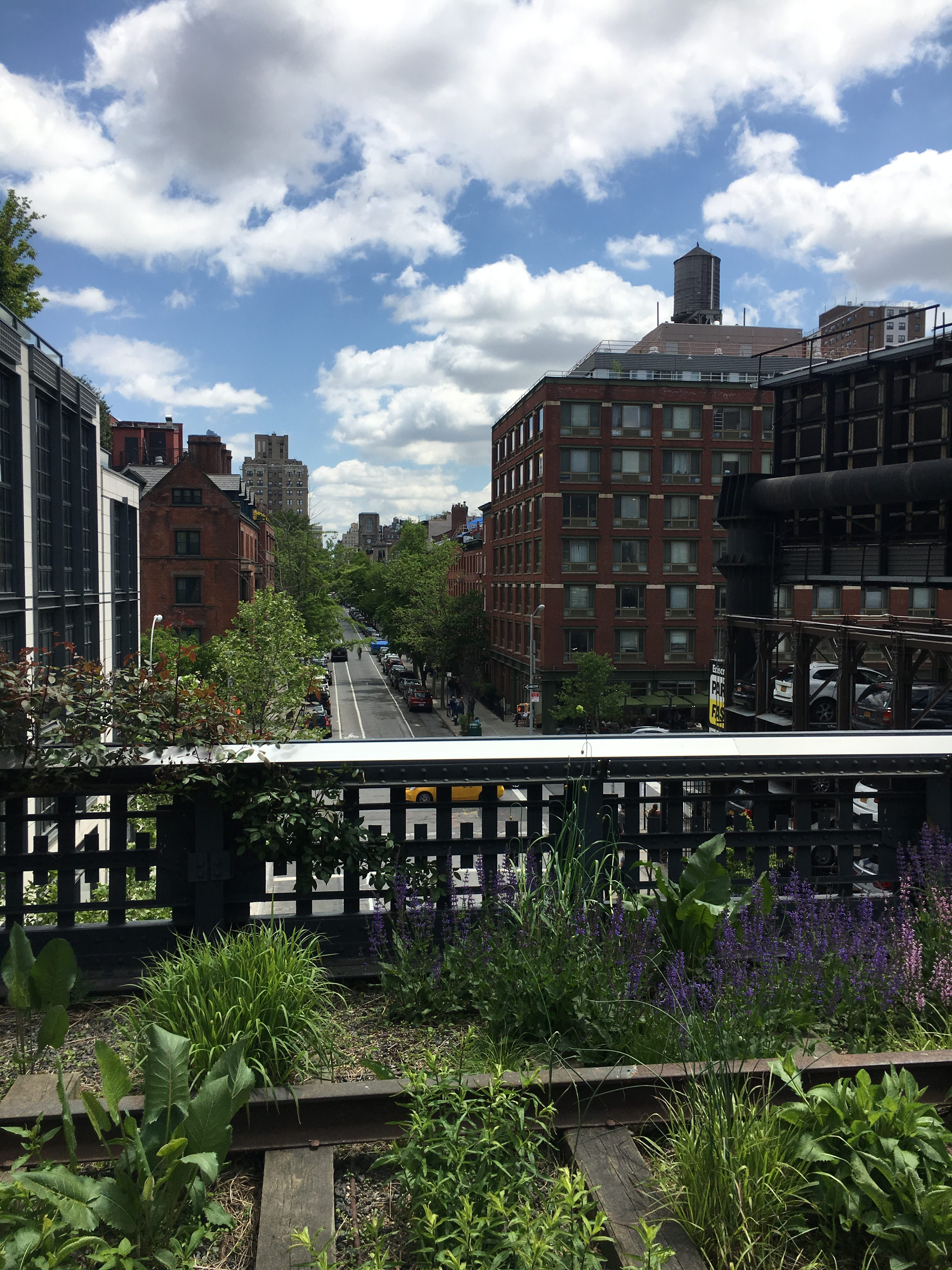 high line for memorial day weekend