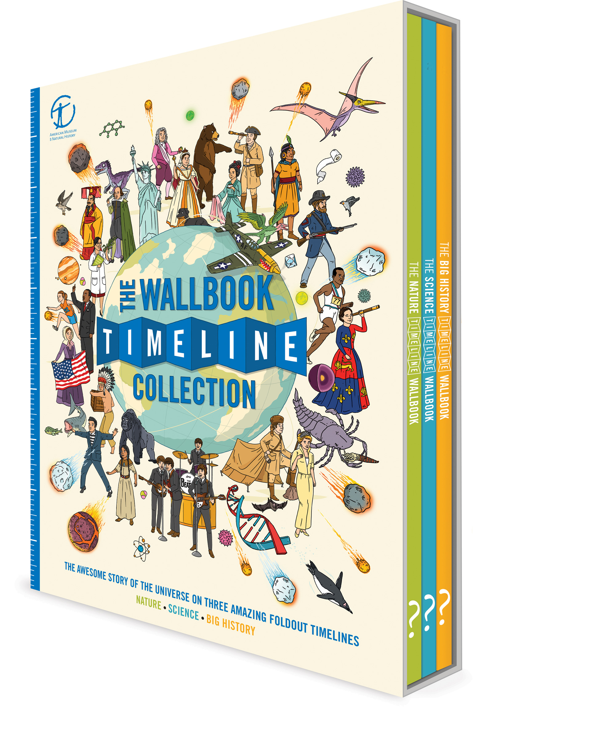the nature timeline wall book series