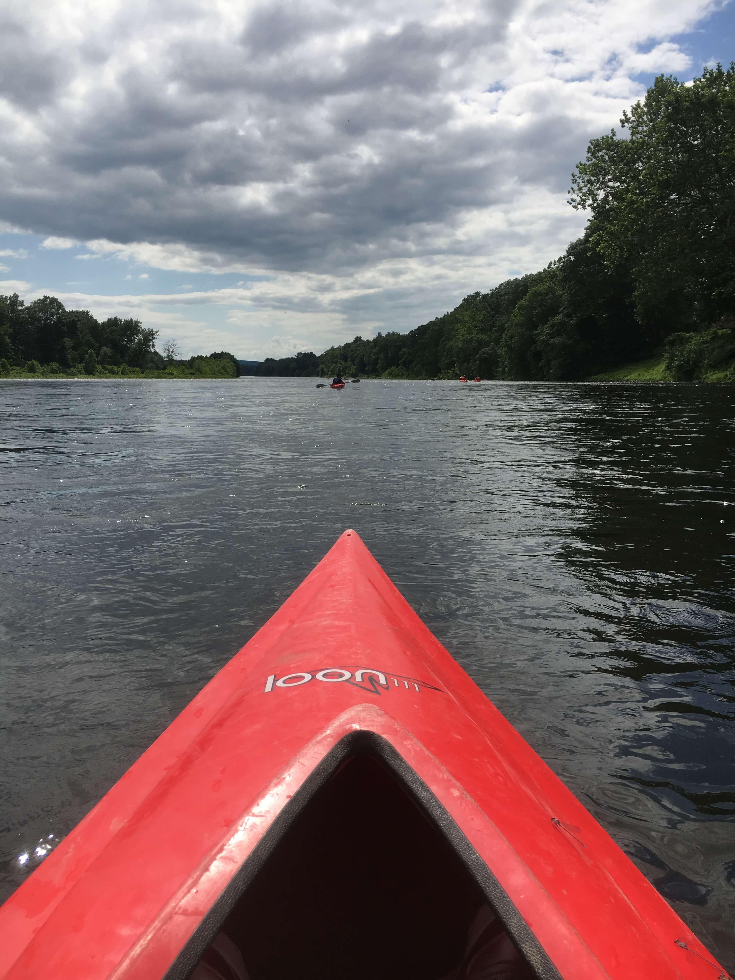 day trip canoe in PA